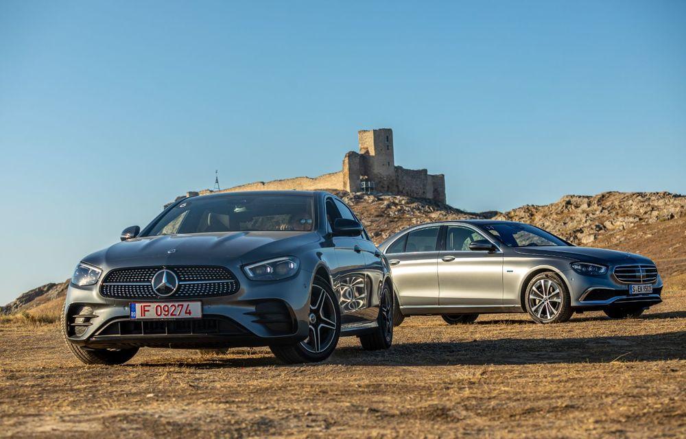 Mercedes-Benz Clasa E facelift a ajuns și în România: prim contact cu versiunile sedan, coupe și All-Terrain - Poza 28