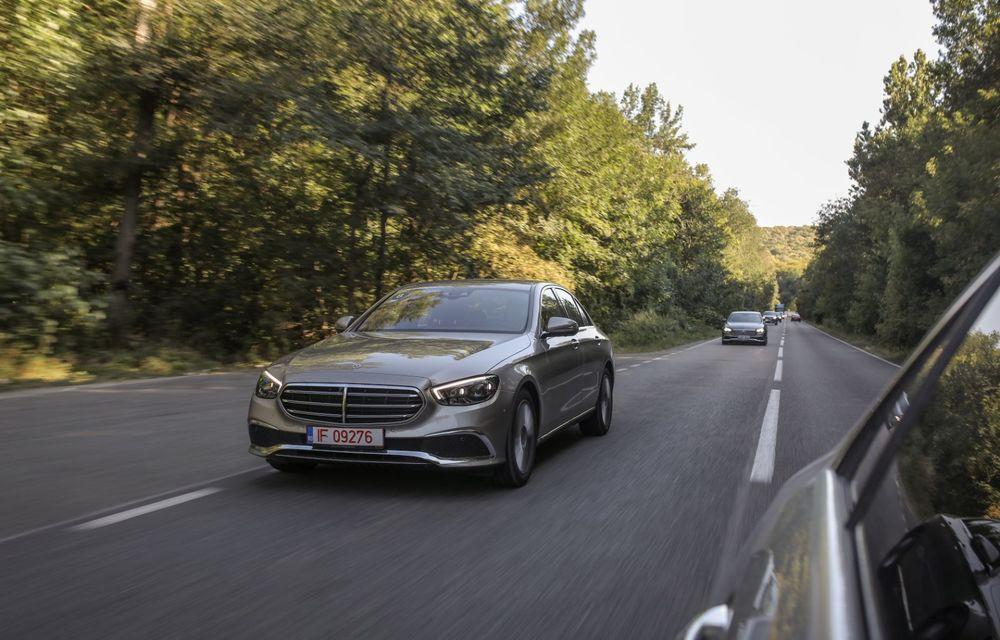Mercedes-Benz Clasa E facelift a ajuns și în România: prim contact cu versiunile sedan, coupe și All-Terrain - Poza 16
