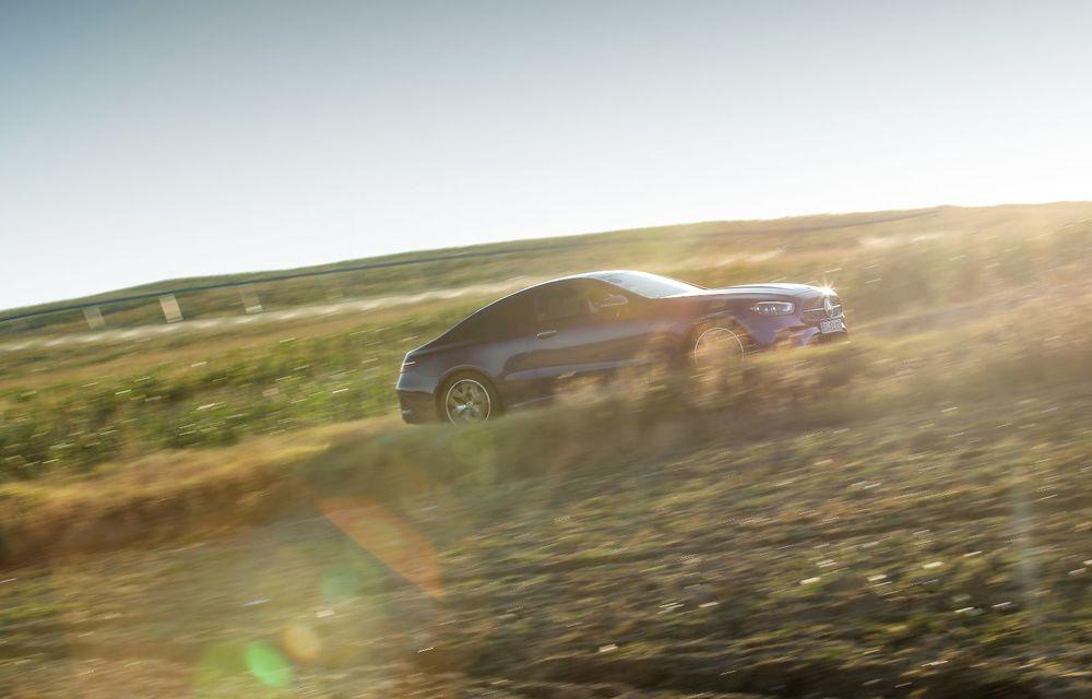 Mercedes-Benz Clasa E facelift a ajuns și în România: prim contact cu versiunile sedan, coupe și All-Terrain - Poza 42