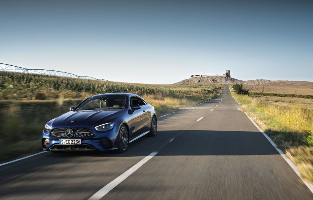 Mercedes-Benz Clasa E facelift a ajuns și în România: prim contact cu versiunile sedan, coupe și All-Terrain - Poza 30