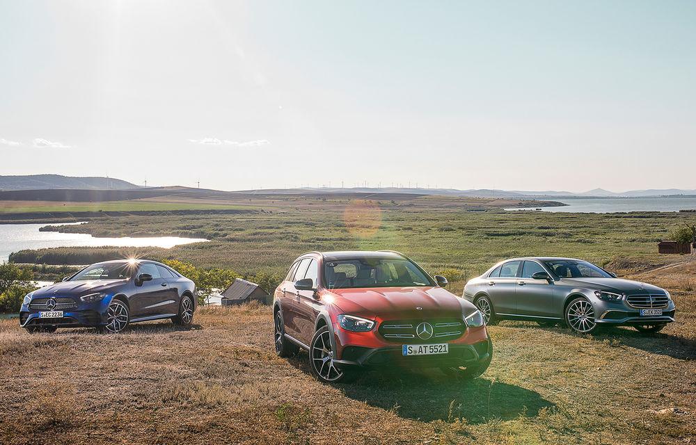 Mercedes-Benz Clasa E facelift a ajuns și în România: prim contact cu versiunile sedan, coupe și All-Terrain - Poza 1
