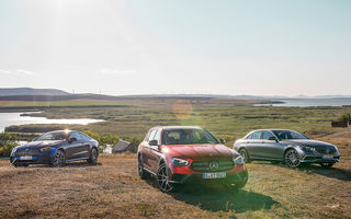 Mercedes-Benz Clasa E facelift a ajuns și în România: prim contact cu versiunile sedan, coupe și All-Terrain