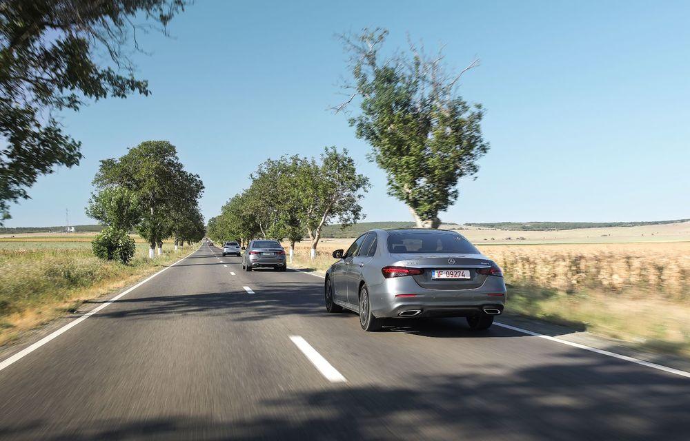 Mercedes-Benz Clasa E facelift a ajuns și în România: prim contact cu versiunile sedan, coupe și All-Terrain - Poza 18