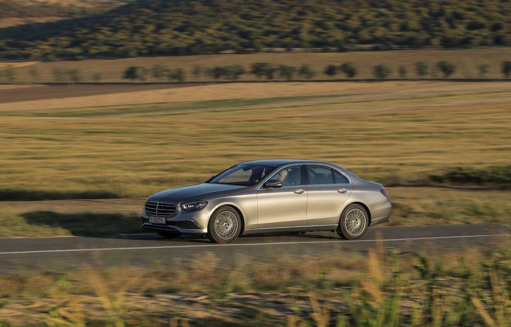 Mercedes-Benz Clasa E facelift a ajuns și în România: prim contact cu versiunile sedan, coupe și All-Terrain - Poza 23