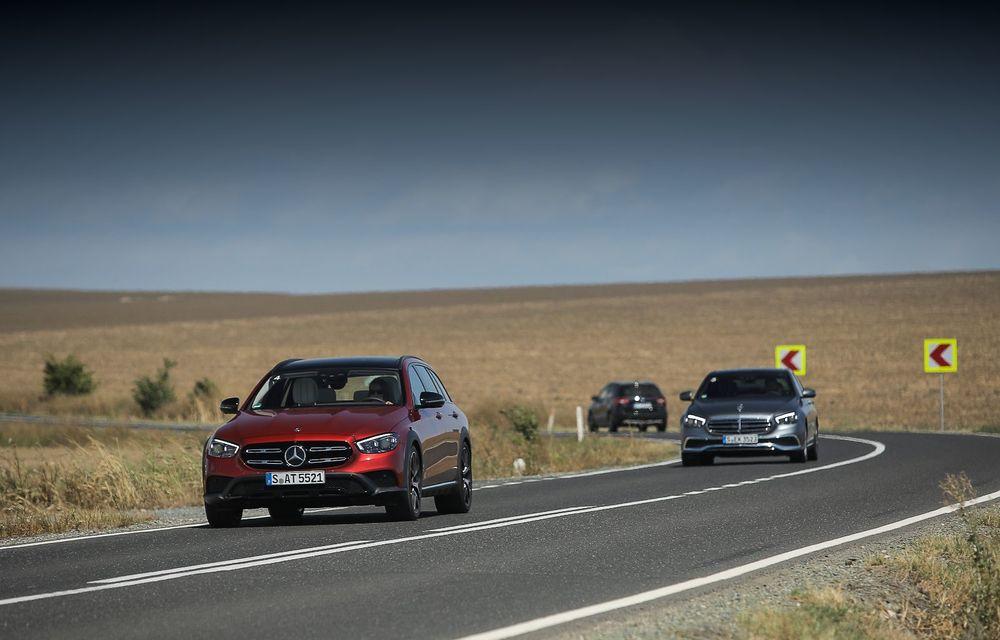 Mercedes-Benz Clasa E facelift a ajuns și în România: prim contact cu versiunile sedan, coupe și All-Terrain - Poza 41