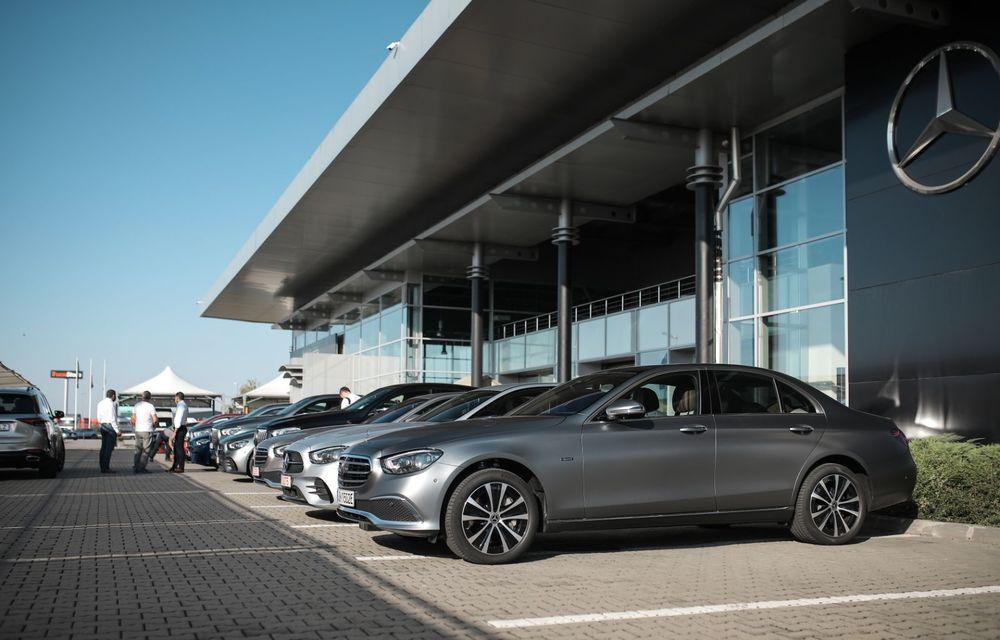 Mercedes-Benz Clasa E facelift a ajuns și în România: prim contact cu versiunile sedan, coupe și All-Terrain - Poza 4