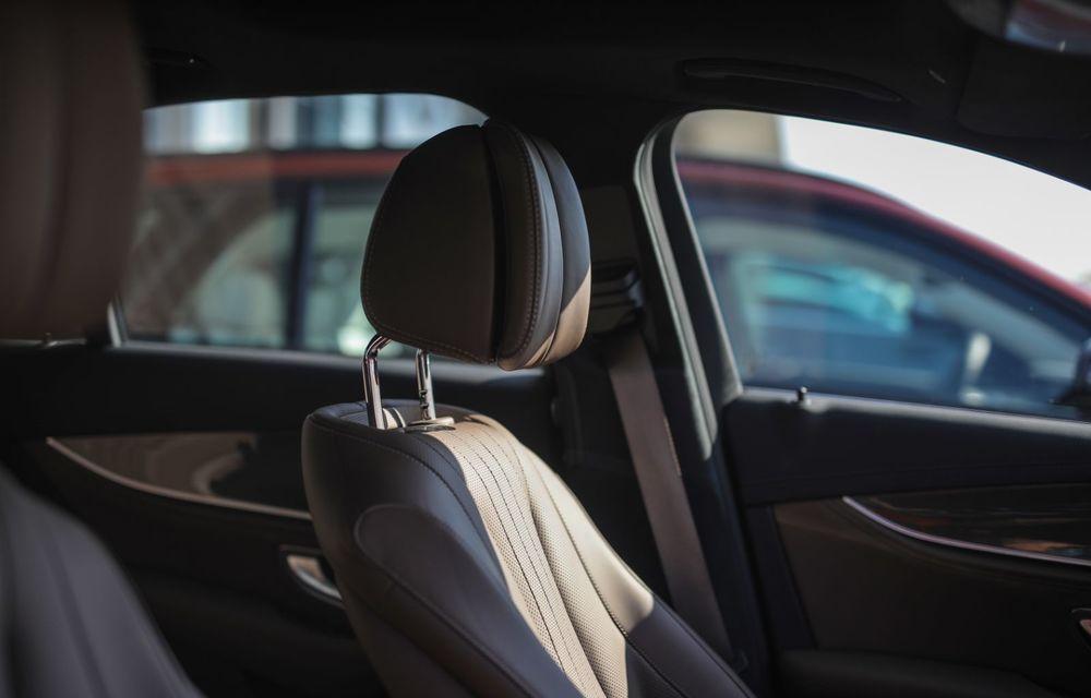 Mercedes-Benz Clasa E facelift a ajuns și în România: prim contact cu versiunile sedan, coupe și All-Terrain - Poza 12