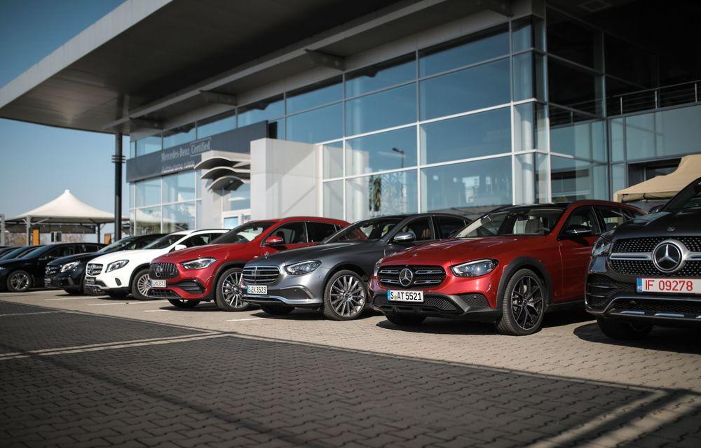 Mercedes-Benz Clasa E facelift a ajuns și în România: prim contact cu versiunile sedan, coupe și All-Terrain - Poza 6