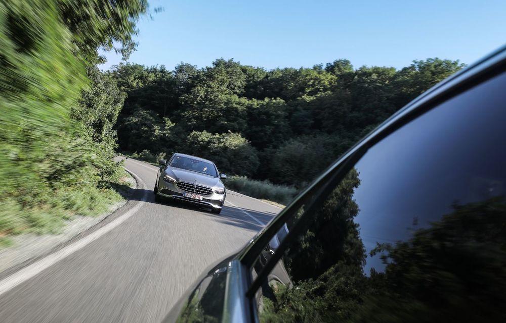 Mercedes-Benz Clasa E facelift a ajuns și în România: prim contact cu versiunile sedan, coupe și All-Terrain - Poza 21