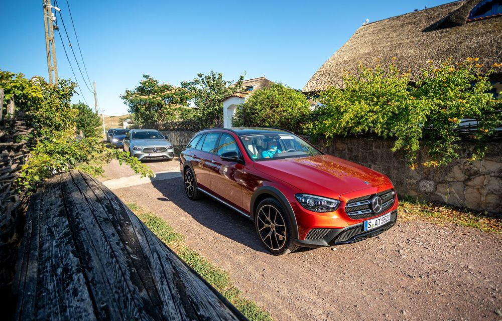 Mercedes-Benz Clasa E facelift a ajuns și în România: prim contact cu versiunile sedan, coupe și All-Terrain - Poza 51