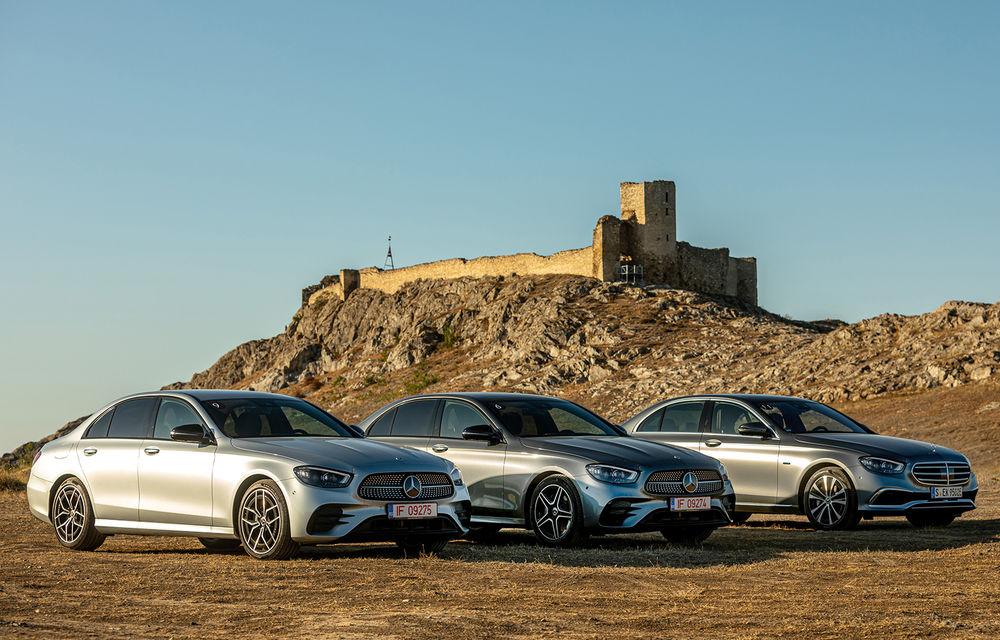Mercedes-Benz Clasa E facelift a ajuns și în România: prim contact cu versiunile sedan, coupe și All-Terrain - Poza 2