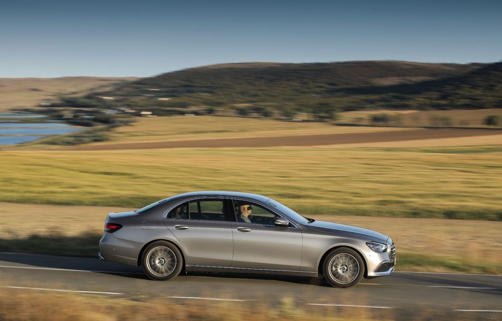 Mercedes-Benz Clasa E facelift a ajuns și în România: prim contact cu versiunile sedan, coupe și All-Terrain - Poza 22