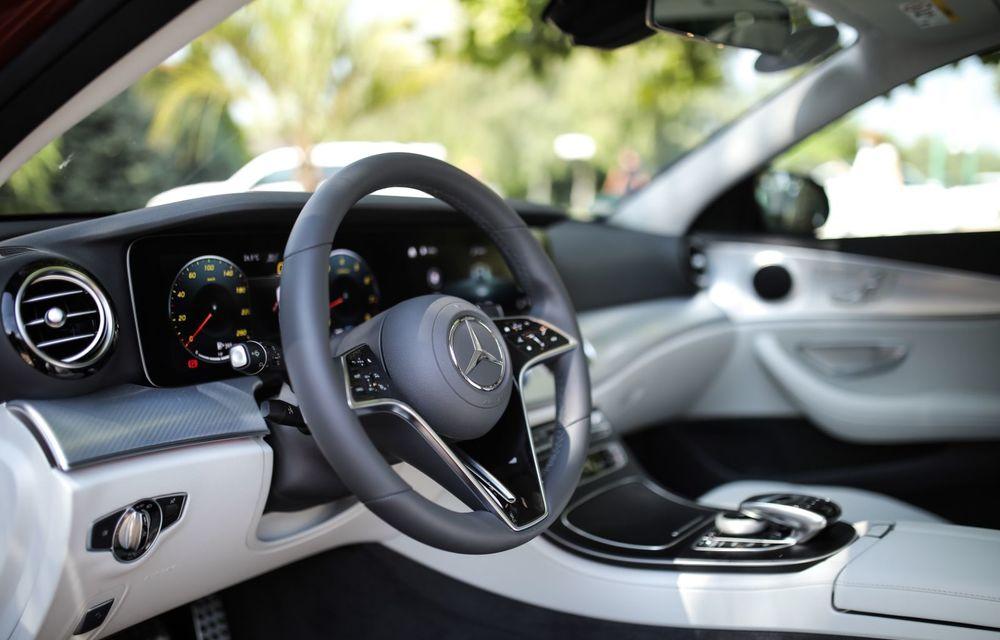 Mercedes-Benz Clasa E facelift a ajuns și în România: prim contact cu versiunile sedan, coupe și All-Terrain - Poza 56