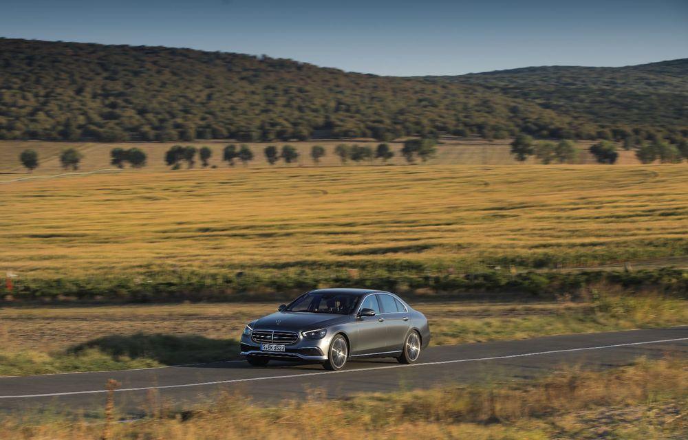 Mercedes-Benz Clasa E facelift a ajuns și în România: prim contact cu versiunile sedan, coupe și All-Terrain - Poza 27