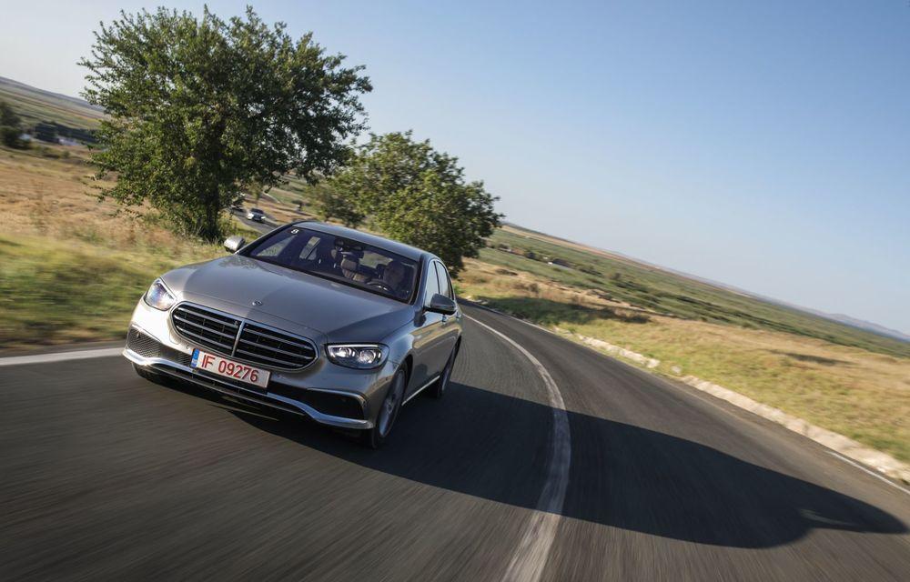 Mercedes-Benz Clasa E facelift a ajuns și în România: prim contact cu versiunile sedan, coupe și All-Terrain - Poza 15