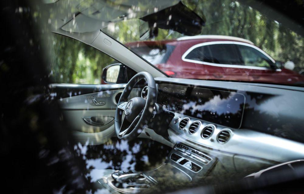Mercedes-Benz Clasa E facelift a ajuns și în România: prim contact cu versiunile sedan, coupe și All-Terrain - Poza 57