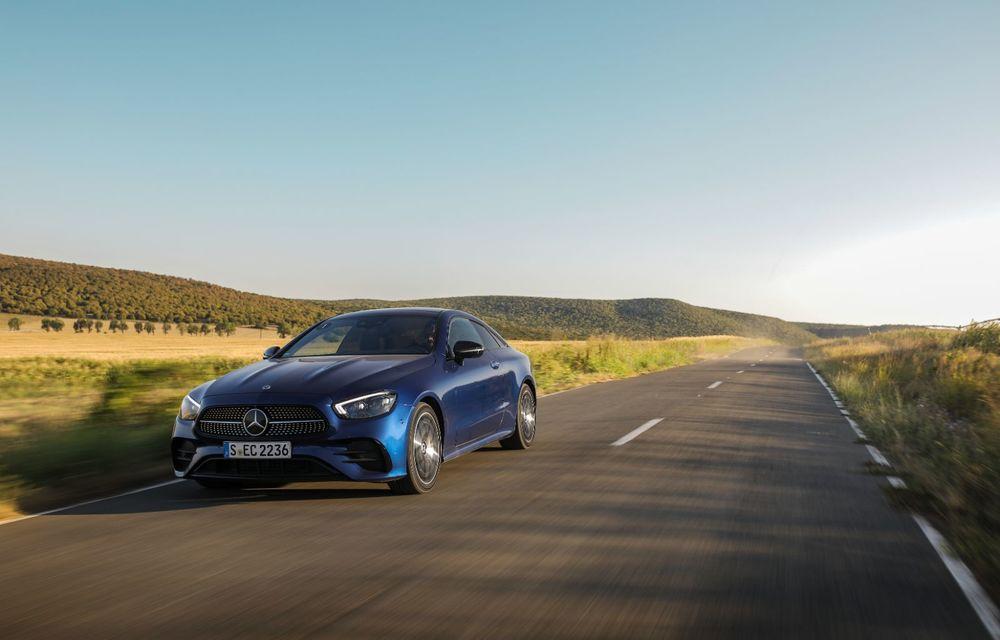 Mercedes-Benz Clasa E facelift a ajuns și în România: prim contact cu versiunile sedan, coupe și All-Terrain - Poza 32