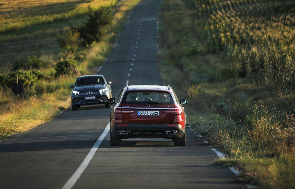 Mercedes-Benz Clasa E facelift a ajuns și în România: prim contact cu versiunile sedan, coupe și All-Terrain - Poza 47
