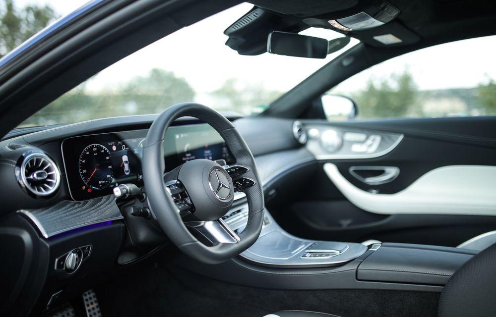 Mercedes-Benz Clasa E facelift a ajuns și în România: prim contact cu versiunile sedan, coupe și All-Terrain - Poza 58