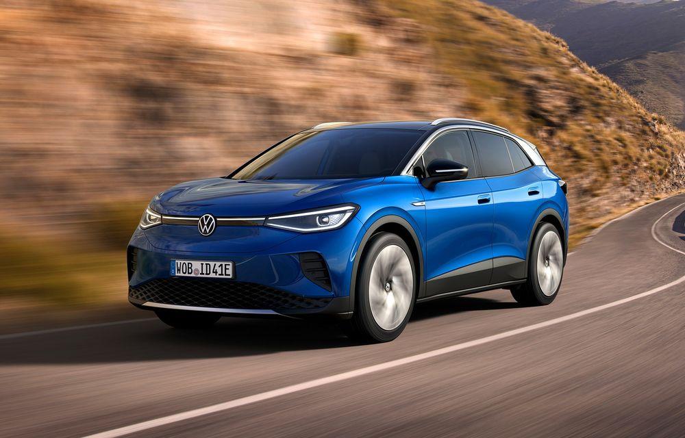 Volkswagen ID.4 este aici: SUV-ul electric are versiune de lansare de 204 cai putere și autonomie de 520 de kilometri - Poza 1