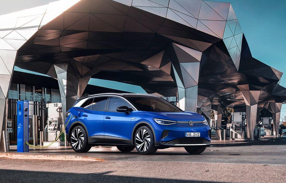 Volkswagen ID.4 este aici: SUV-ul electric are versiune de lansare de 204 cai putere și autonomie de 520 de kilometri - Poza 3