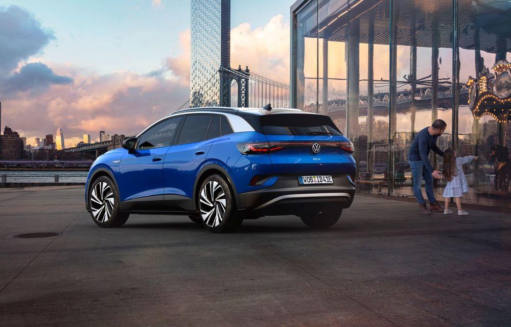 Volkswagen ID.4 este aici: SUV-ul electric are versiune de lansare de 204 cai putere și autonomie de 520 de kilometri - Poza 2