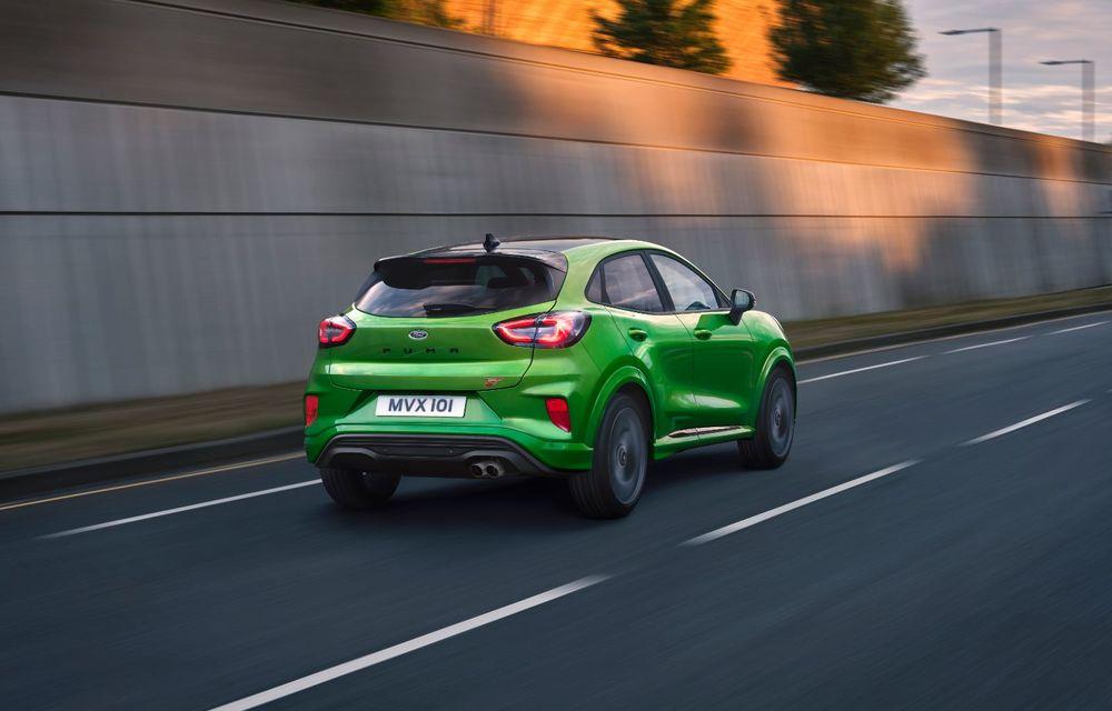 Noul Ford Puma ST este aici: primul model Ford Performance produs în România are motor EcoBoost de 1.5 litri ce dezvoltă 200 CP și o cutie manuală cu 6 trepte - Poza 3