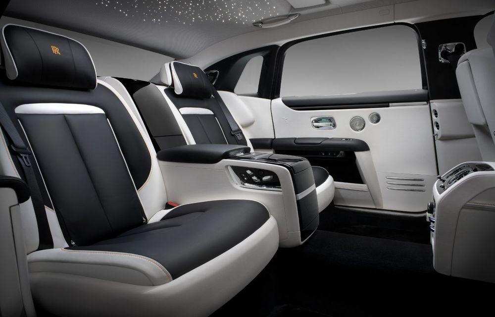 Rolls-Royce prezintă noul Ghost Extended: ampatament mai mare cu 170 mm și mai mult spațiu pentru pasagerii din spate - Poza 8
