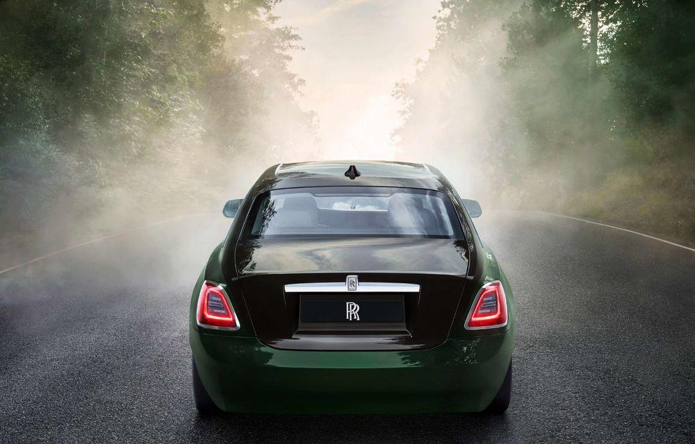 Rolls-Royce prezintă noul Ghost Extended: ampatament mai mare cu 170 mm și mai mult spațiu pentru pasagerii din spate - Poza 3