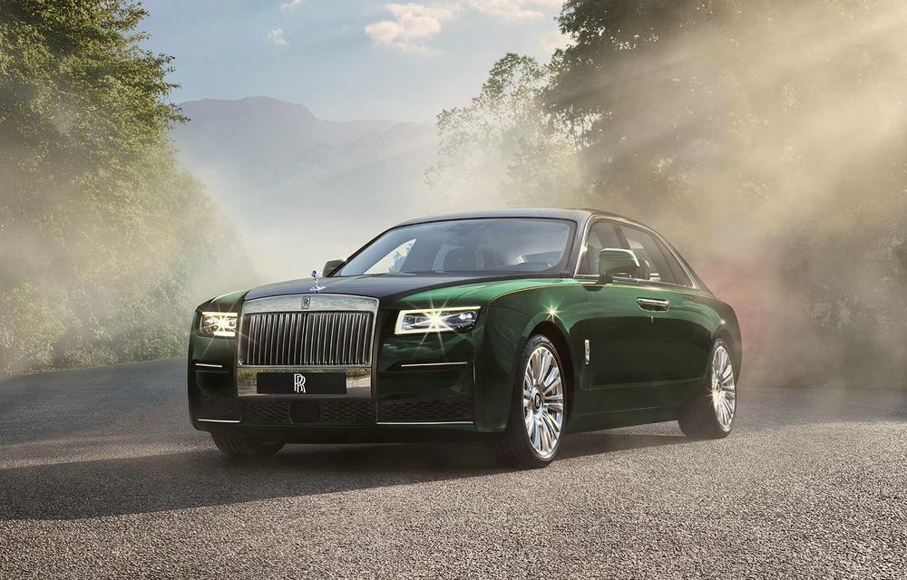 Rolls-Royce prezintă noul Ghost Extended: ampatament mai mare cu 170 mm și mai mult spațiu pentru pasagerii din spate - Poza 1