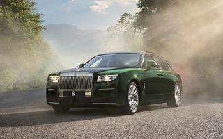 Rolls-Royce prezintă noul Ghost Extended: ampatament mai mare cu 170 mm și mai mult spațiu pentru pasagerii din spate