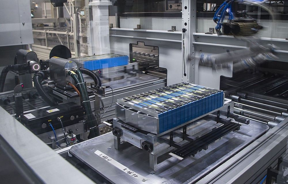BMW vrea să mărească producția de baterii pentru mașini electrice în Germania: investiție de peste 100 de milioane de euro la uzina din Leipzig - Poza 1