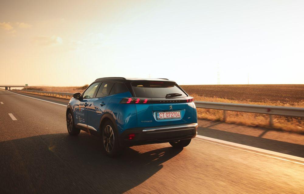 RAPORT FINAL: Peugeot e-2008 în #ElectricRomânia 2020: încărcare, consum, autonomie reală - Poza 25