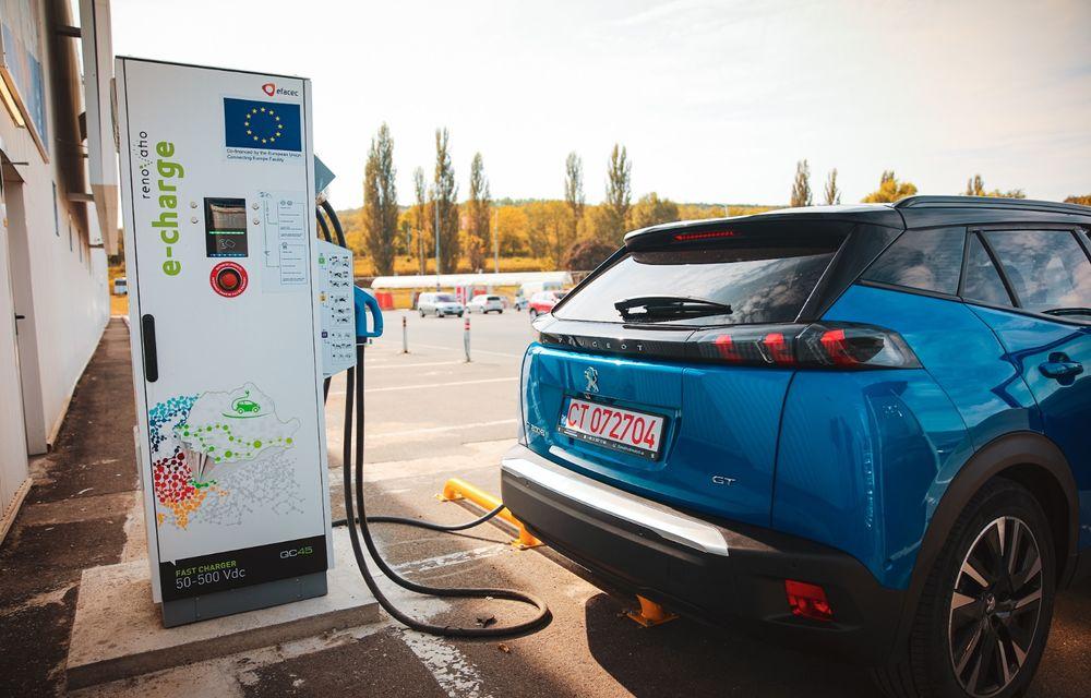 RAPORT FINAL: Peugeot e-2008 în #ElectricRomânia 2020: încărcare, consum, autonomie reală - Poza 30