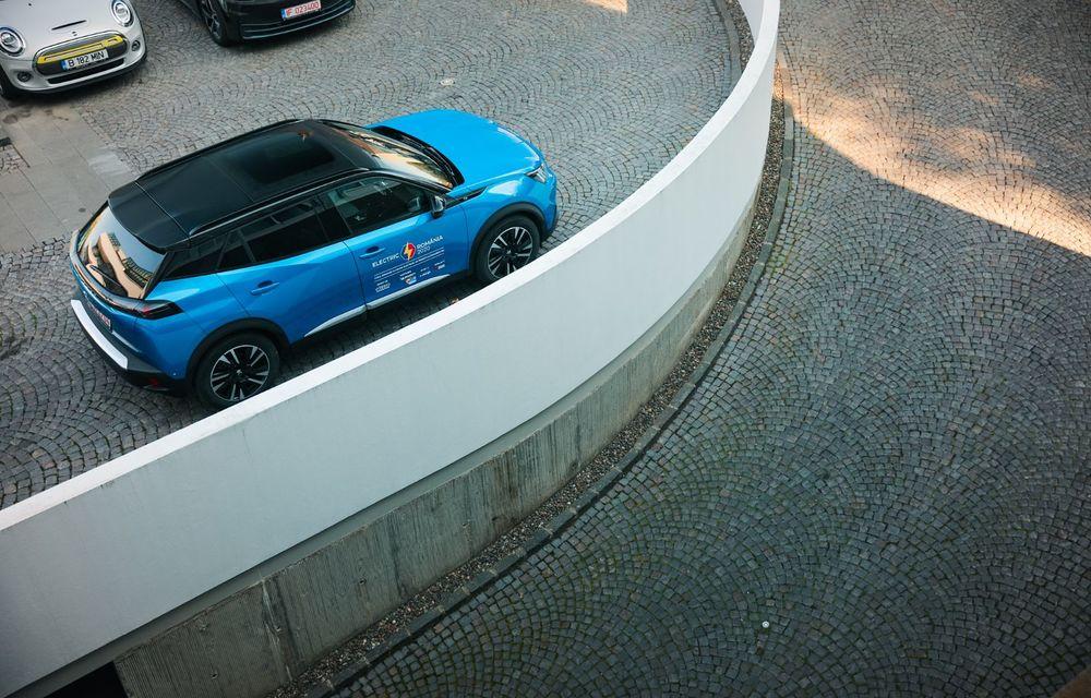 RAPORT FINAL: Peugeot e-2008 în #ElectricRomânia 2020: încărcare, consum, autonomie reală - Poza 26