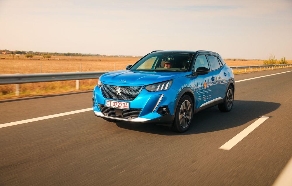 RAPORT FINAL: Peugeot e-2008 în #ElectricRomânia 2020: încărcare, consum, autonomie reală - Poza 4