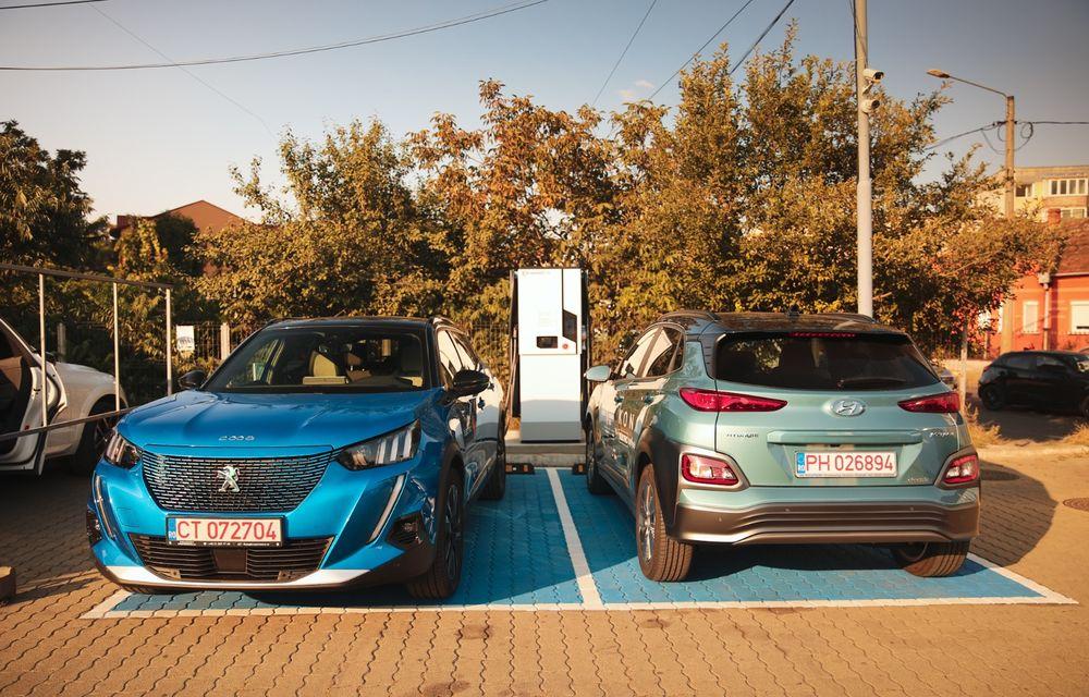 RAPORT FINAL: Peugeot e-2008 în #ElectricRomânia 2020: încărcare, consum, autonomie reală - Poza 33