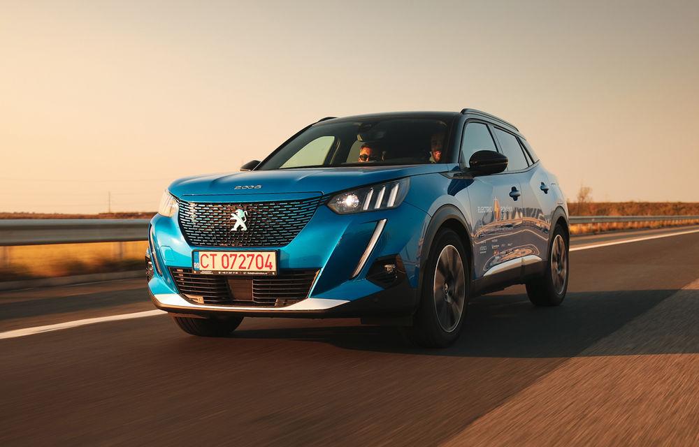 RAPORT FINAL: Peugeot e-2008 în #ElectricRomânia 2020: încărcare, consum, autonomie reală - Poza 1