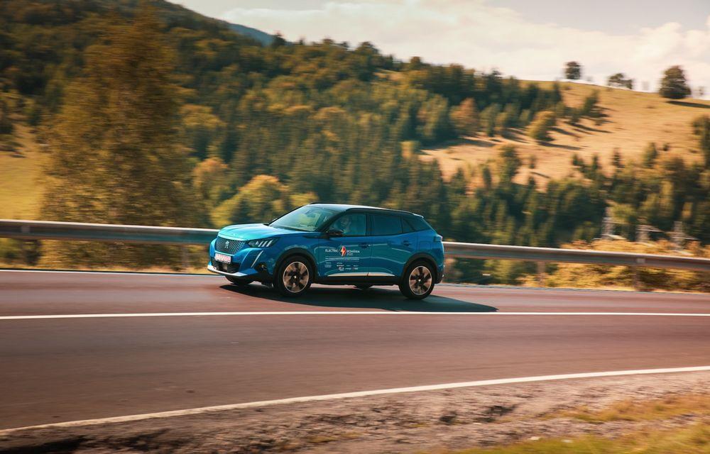 RAPORT FINAL: Peugeot e-2008 în #ElectricRomânia 2020: încărcare, consum, autonomie reală - Poza 13