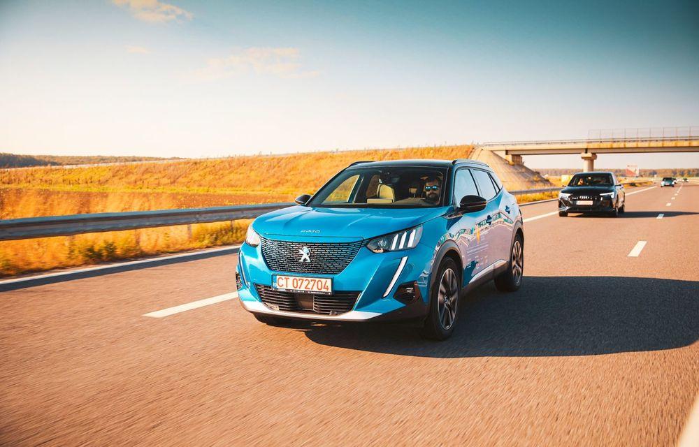 RAPORT FINAL: Peugeot e-2008 în #ElectricRomânia 2020: încărcare, consum, autonomie reală - Poza 11