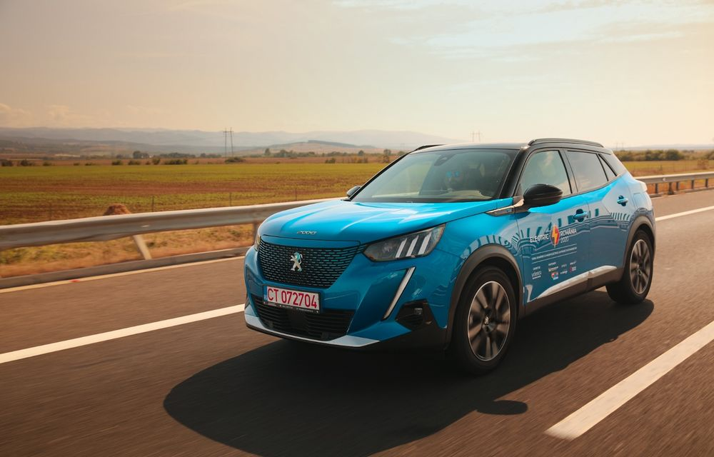 RAPORT FINAL: Peugeot e-2008 în #ElectricRomânia 2020: încărcare, consum, autonomie reală - Poza 5
