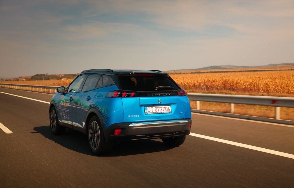 RAPORT FINAL: Peugeot e-2008 în #ElectricRomânia 2020: încărcare, consum, autonomie reală - Poza 24
