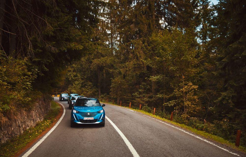 RAPORT FINAL: Peugeot e-2008 în #ElectricRomânia 2020: încărcare, consum, autonomie reală - Poza 9