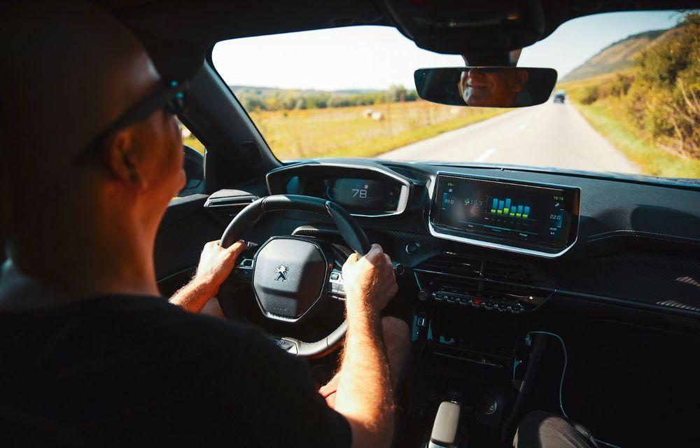 RAPORT FINAL: Peugeot e-2008 în #ElectricRomânia 2020: încărcare, consum, autonomie reală - Poza 36