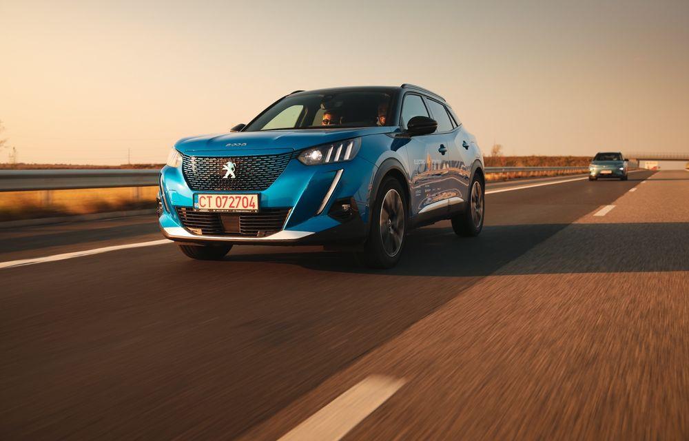 RAPORT FINAL: Peugeot e-2008 în #ElectricRomânia 2020: încărcare, consum, autonomie reală - Poza 6