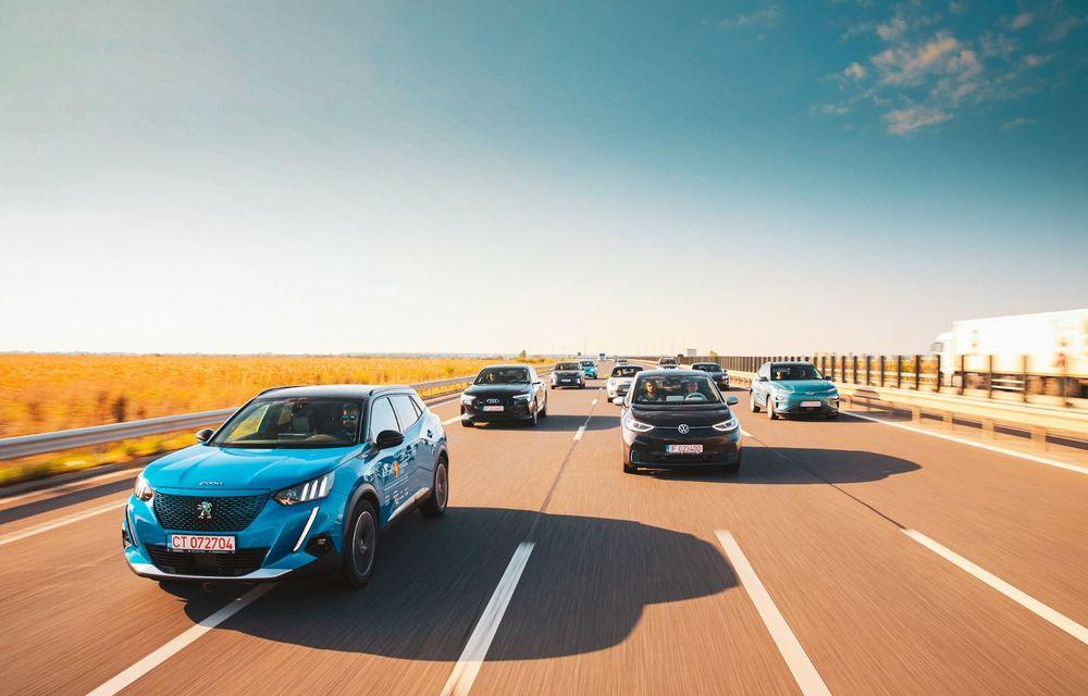 RAPORT FINAL: Peugeot e-2008 în #ElectricRomânia 2020: încărcare, consum, autonomie reală - Poza 12