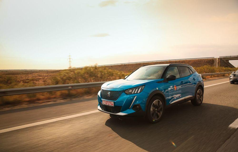 RAPORT FINAL: Peugeot e-2008 în #ElectricRomânia 2020: încărcare, consum, autonomie reală - Poza 2