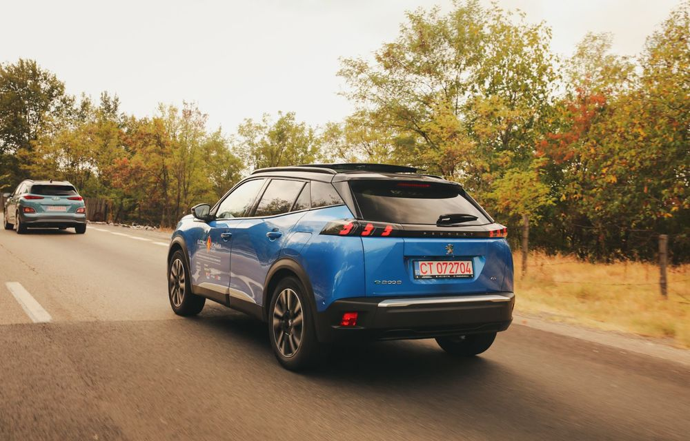 RAPORT FINAL: Peugeot e-2008 în #ElectricRomânia 2020: încărcare, consum, autonomie reală - Poza 22