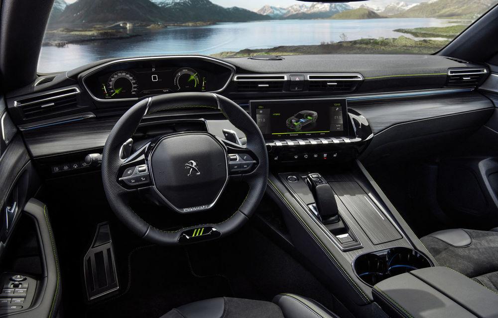 Detalii complete despre Peugeot 508 Sport Engineered: sportiva are sistem plug-in hybrid de 360 de cai putere și autonomie electrică de 42 de kilometri - Poza 3