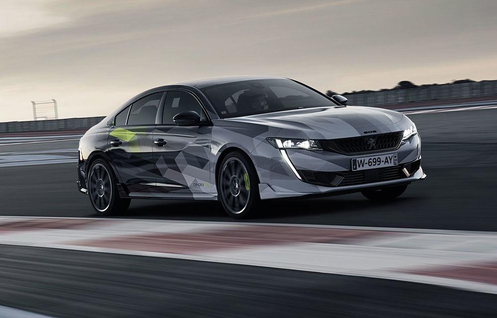 Detalii complete despre Peugeot 508 Sport Engineered: sportiva are sistem plug-in hybrid de 360 de cai putere și autonomie electrică de 42 de kilometri - Poza 1